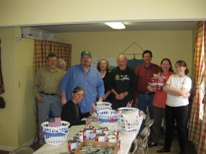 Veterans' baskets - distribution day 021